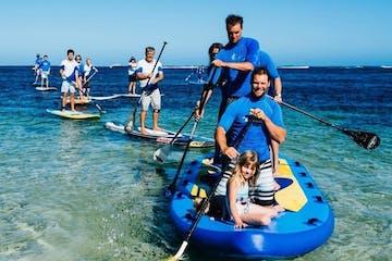 Group Standup paddling