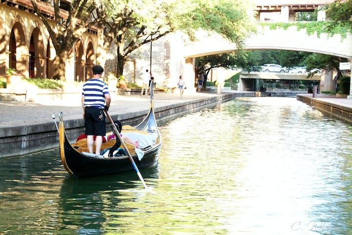 bright day on the gondola