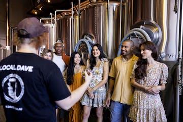 Dav'e Northern exposure Brewery tour group