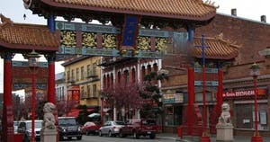 China Town in Victoria, BC, Canada