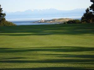 Victoria Golf Course along Juan de Fuca Strait