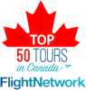 Top 50 Tours in Canada badge