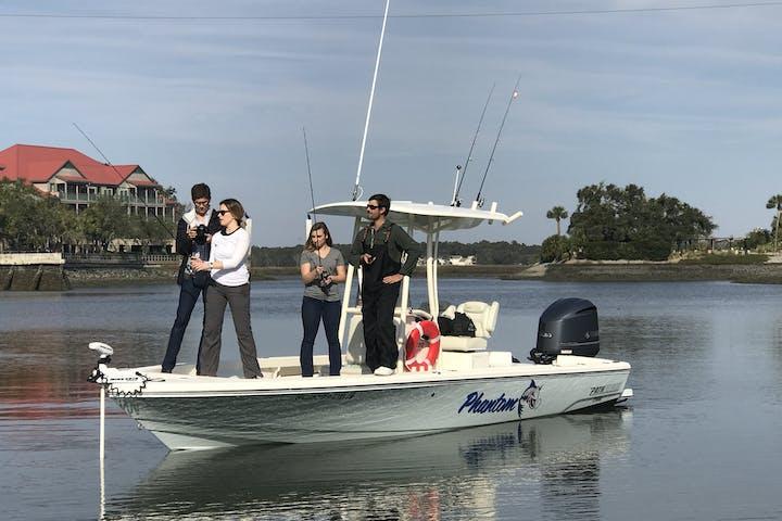 bayrunner fishing charters hilton head island sc