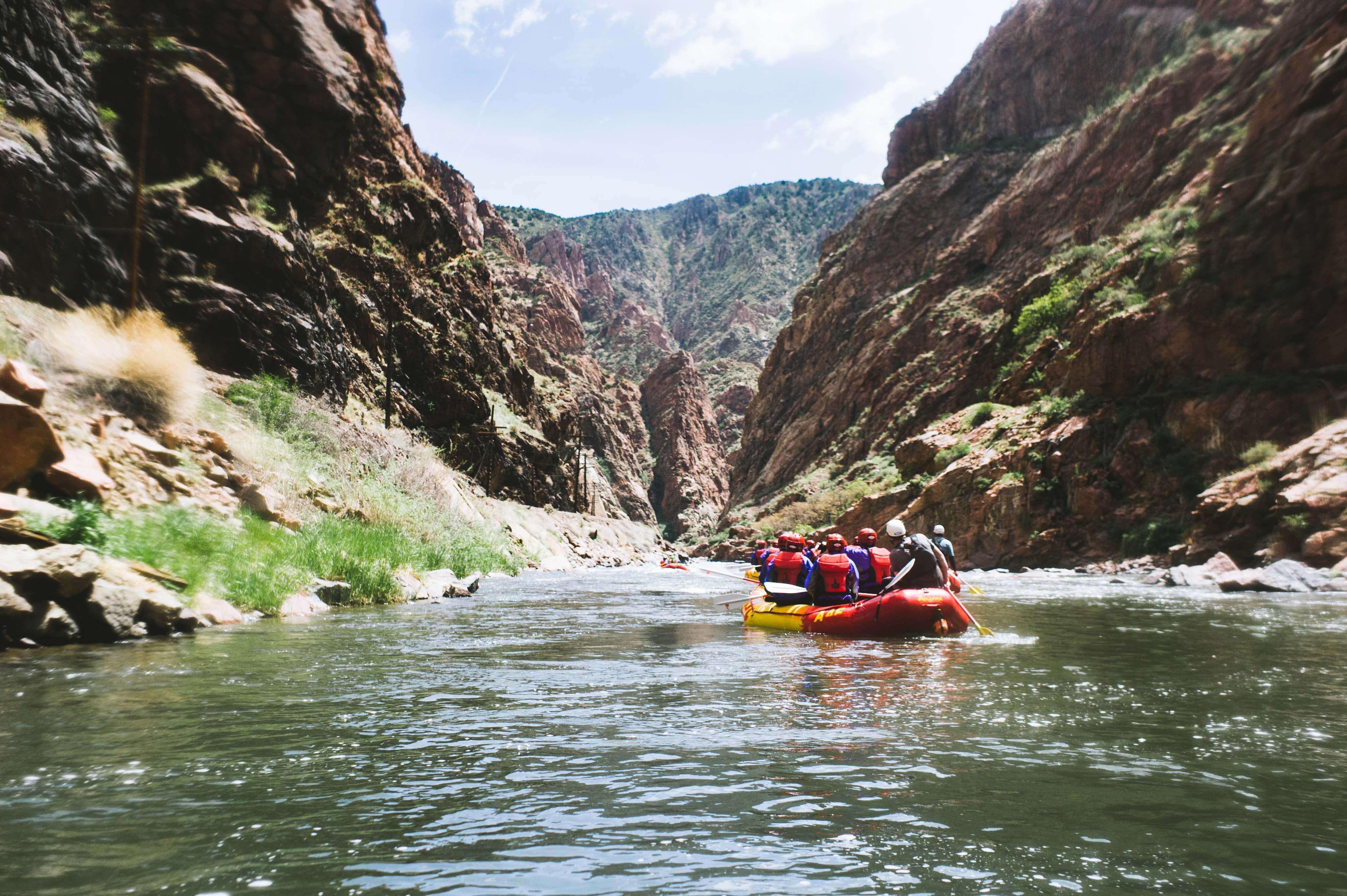 memories from rafting team bonding activity