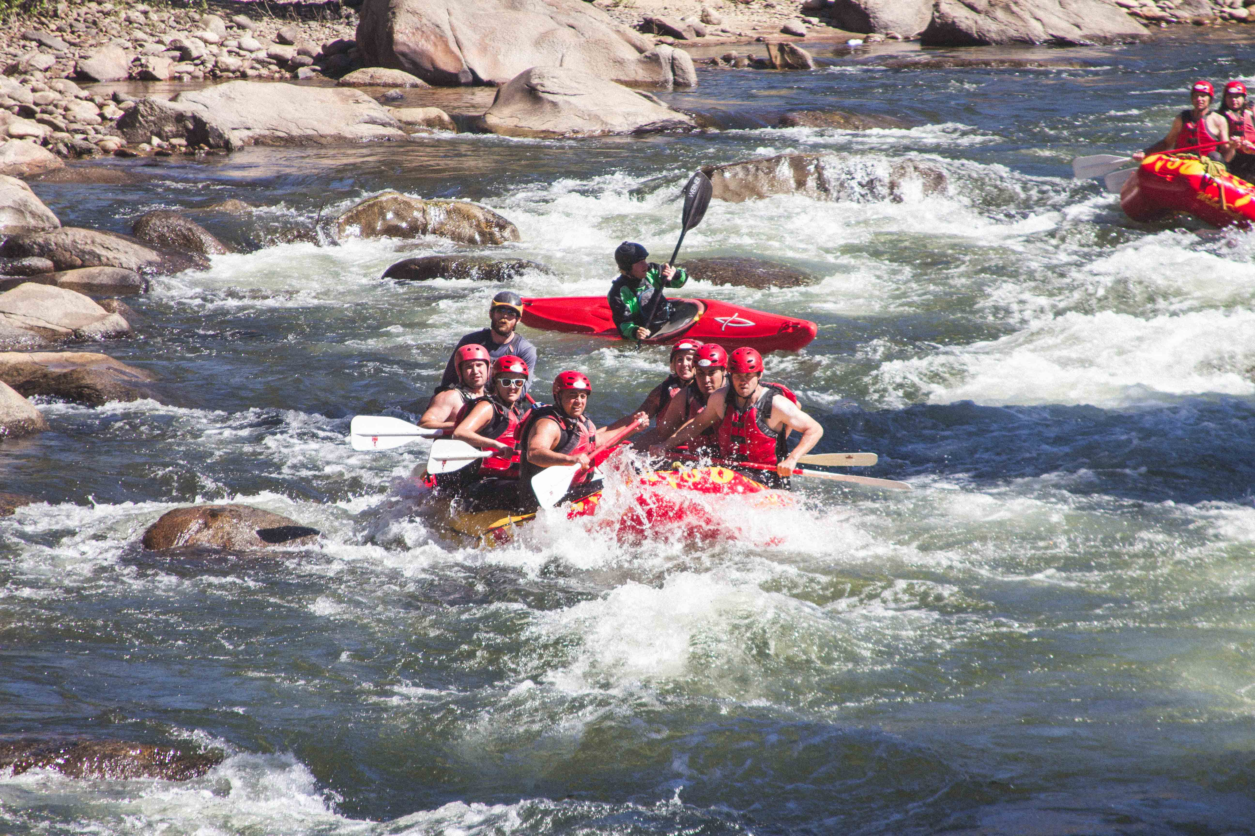 best white water rafting trips rapids