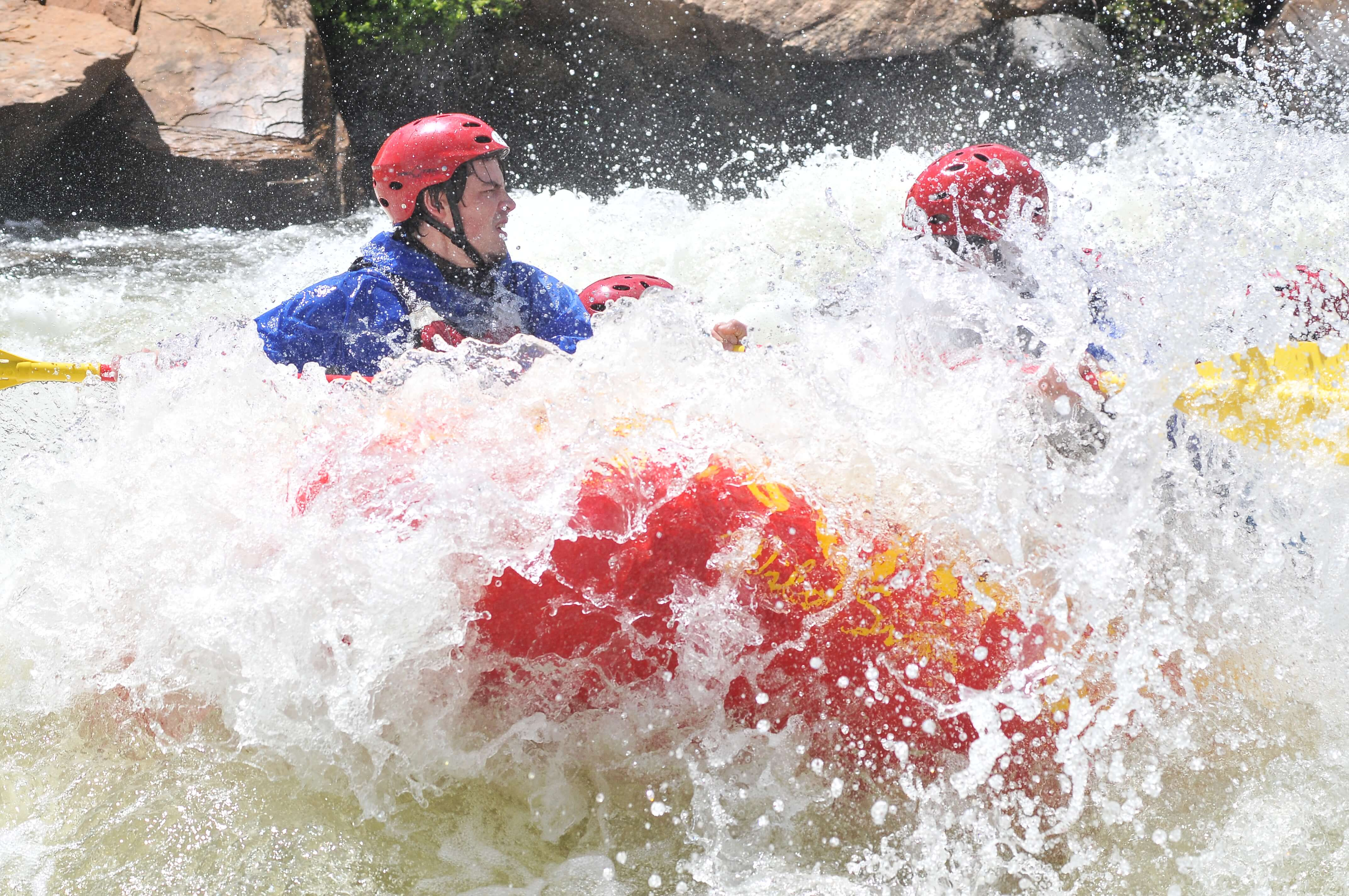 what not to do when white water rafting