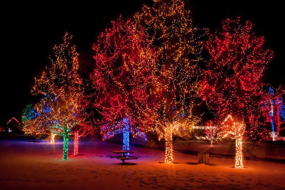 Christmas Lights Colorado Springs 2021