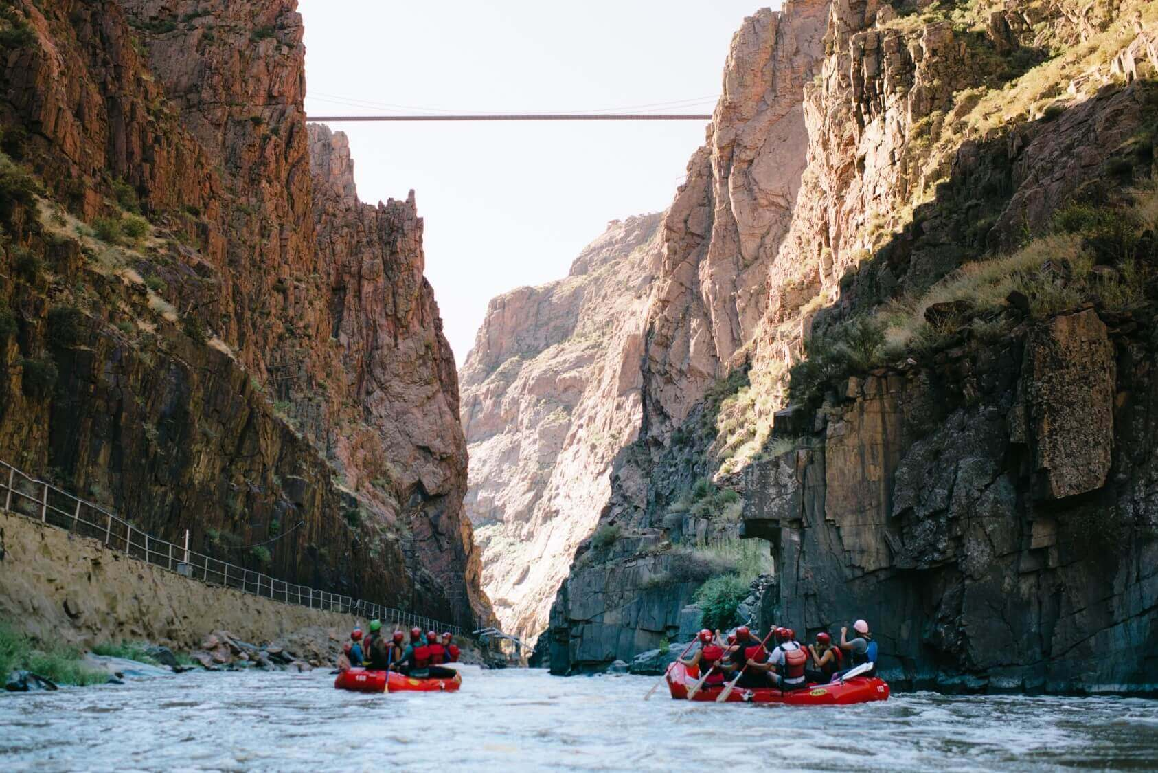 royal gorge activities rafting