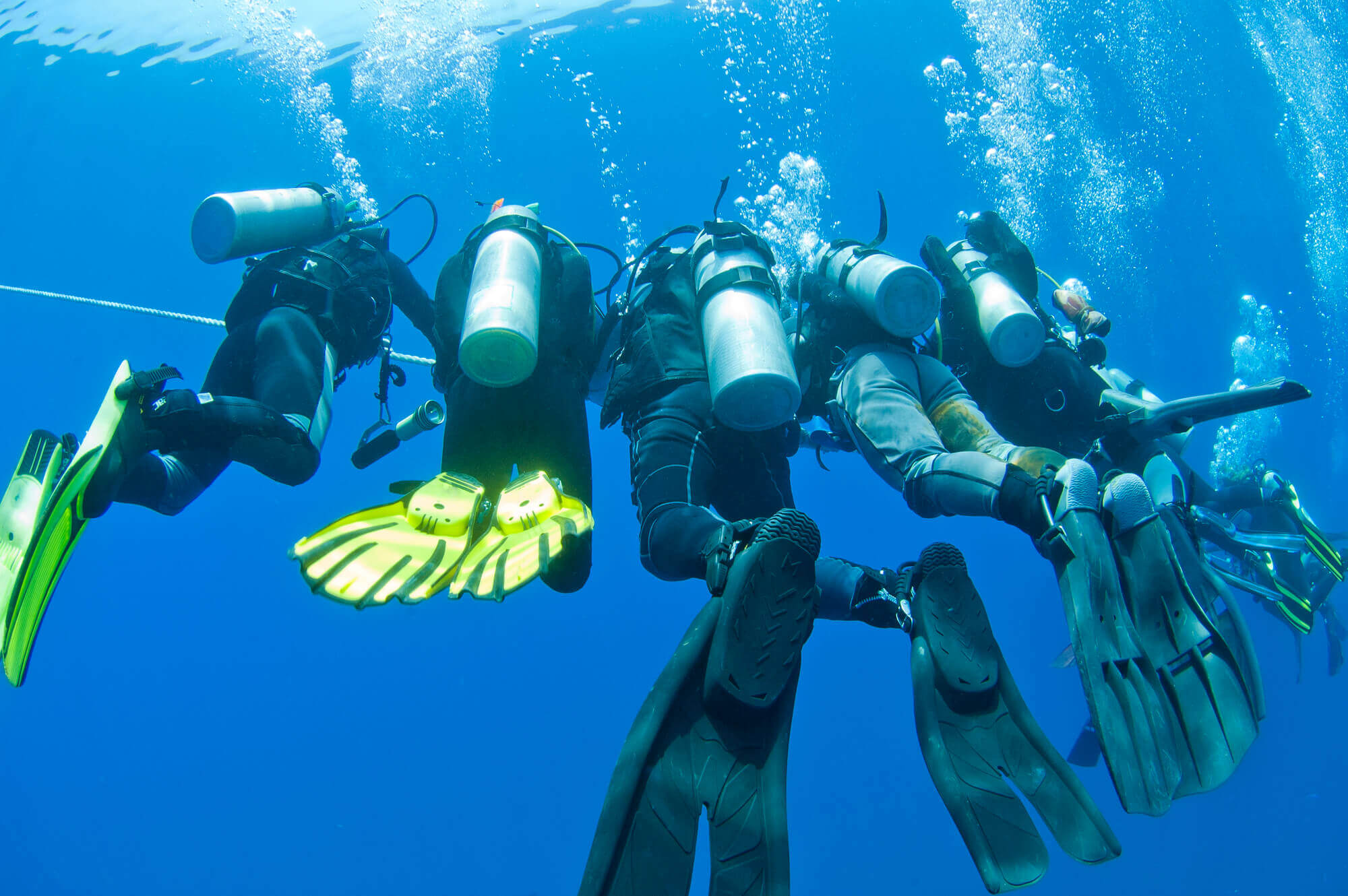 family adventure vacations scuba diving