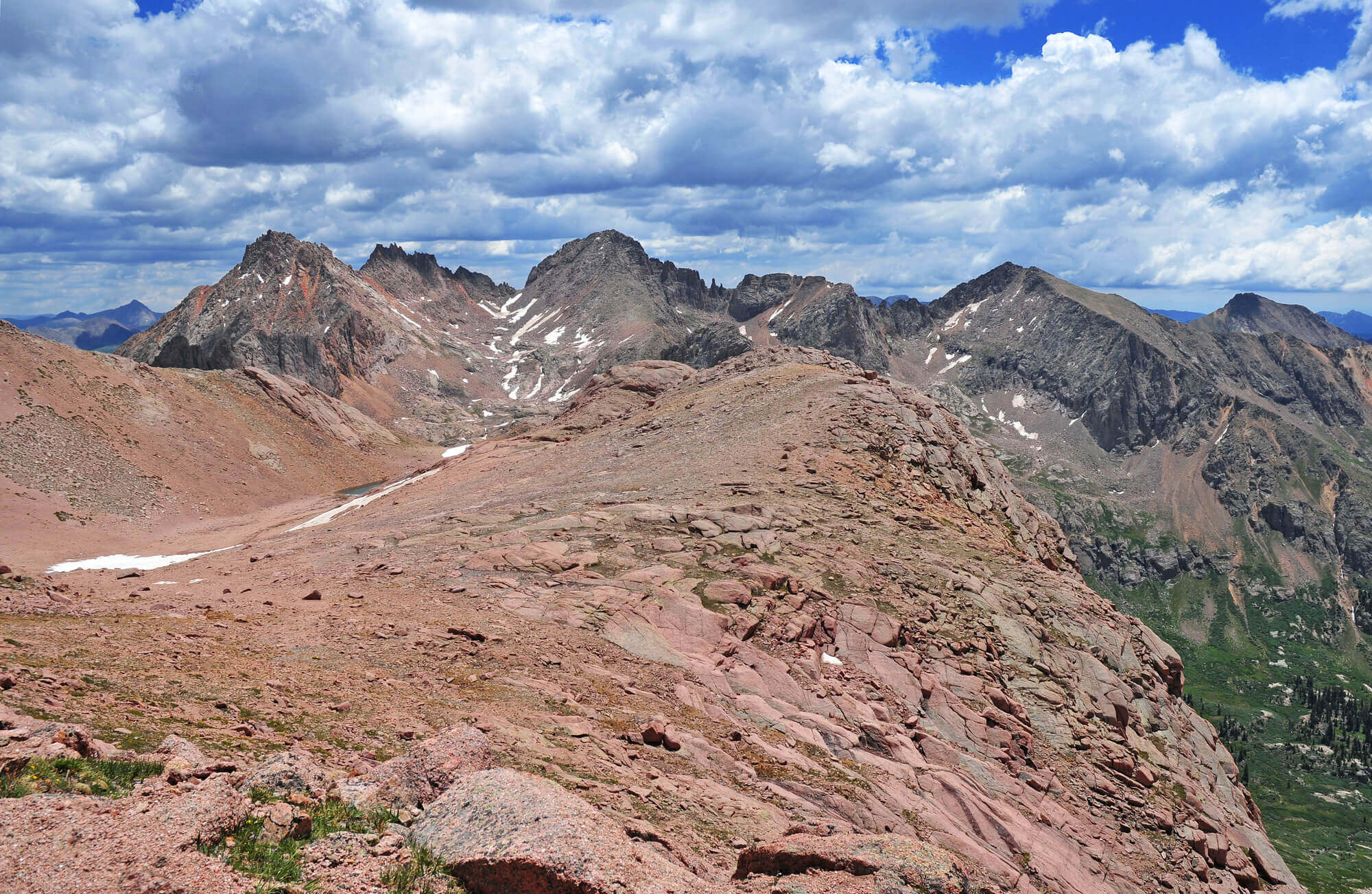 spring hikes colorado hogsback ridge
