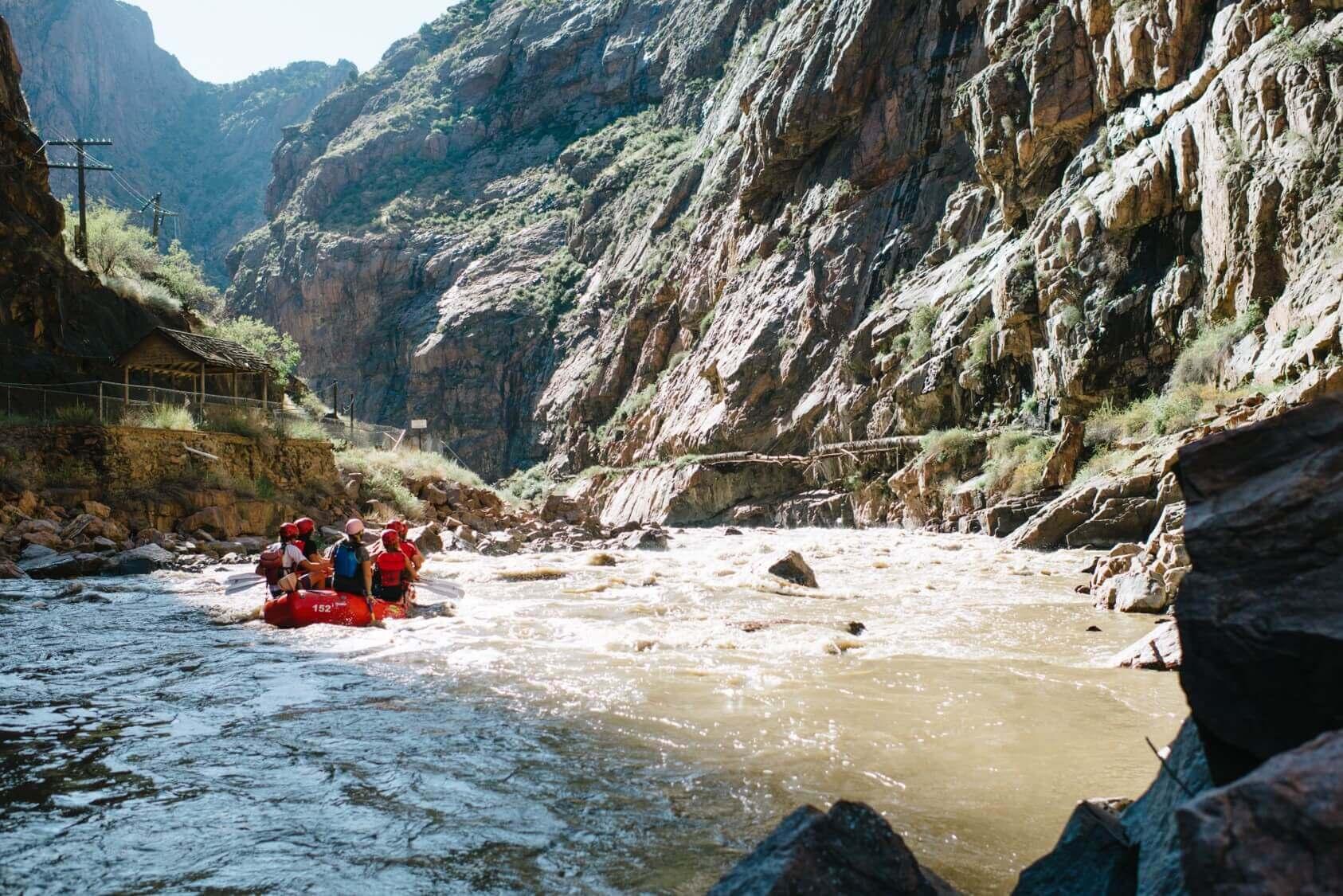 arkansas river colorado royal gorge