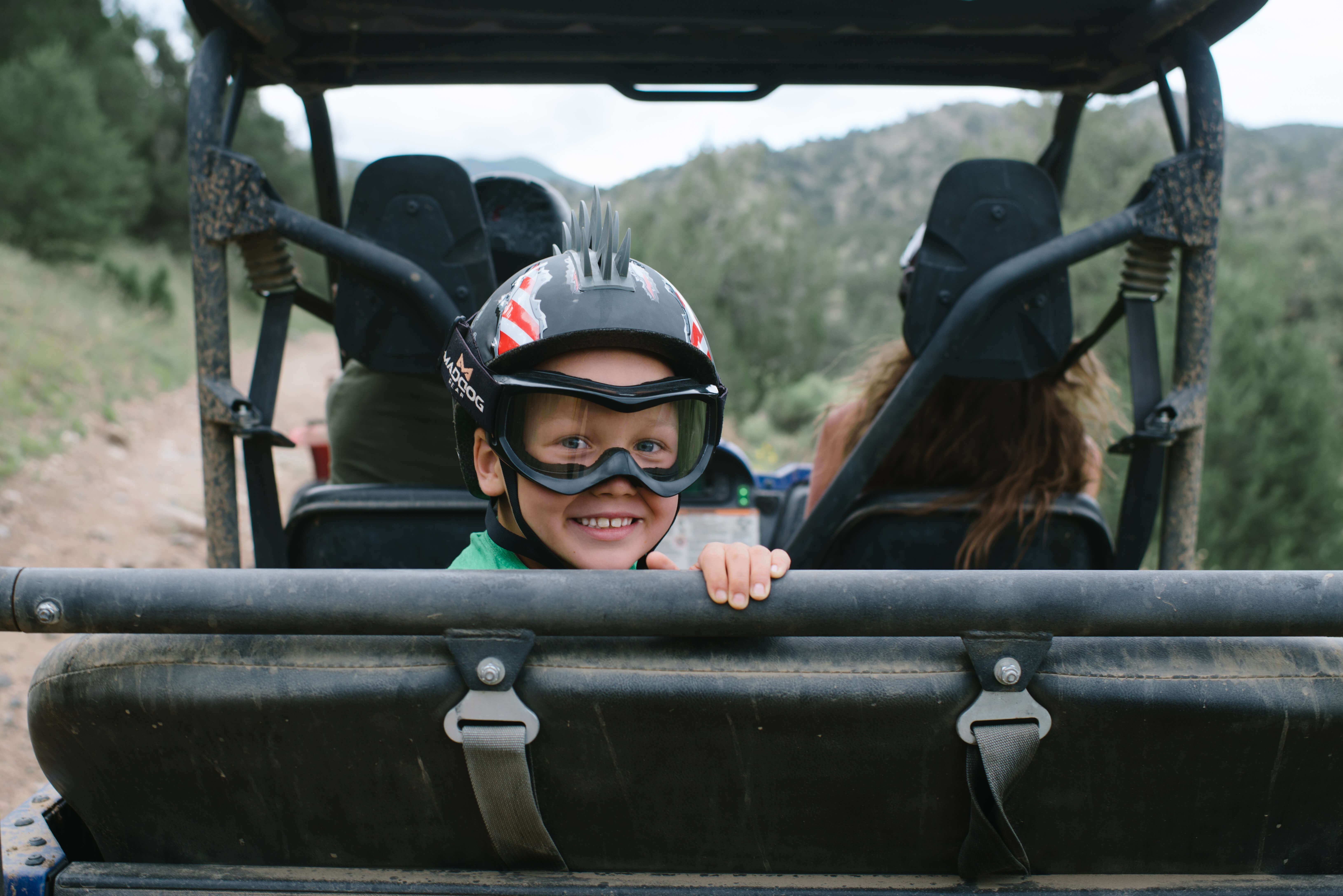 outdoor activities with kids atv
