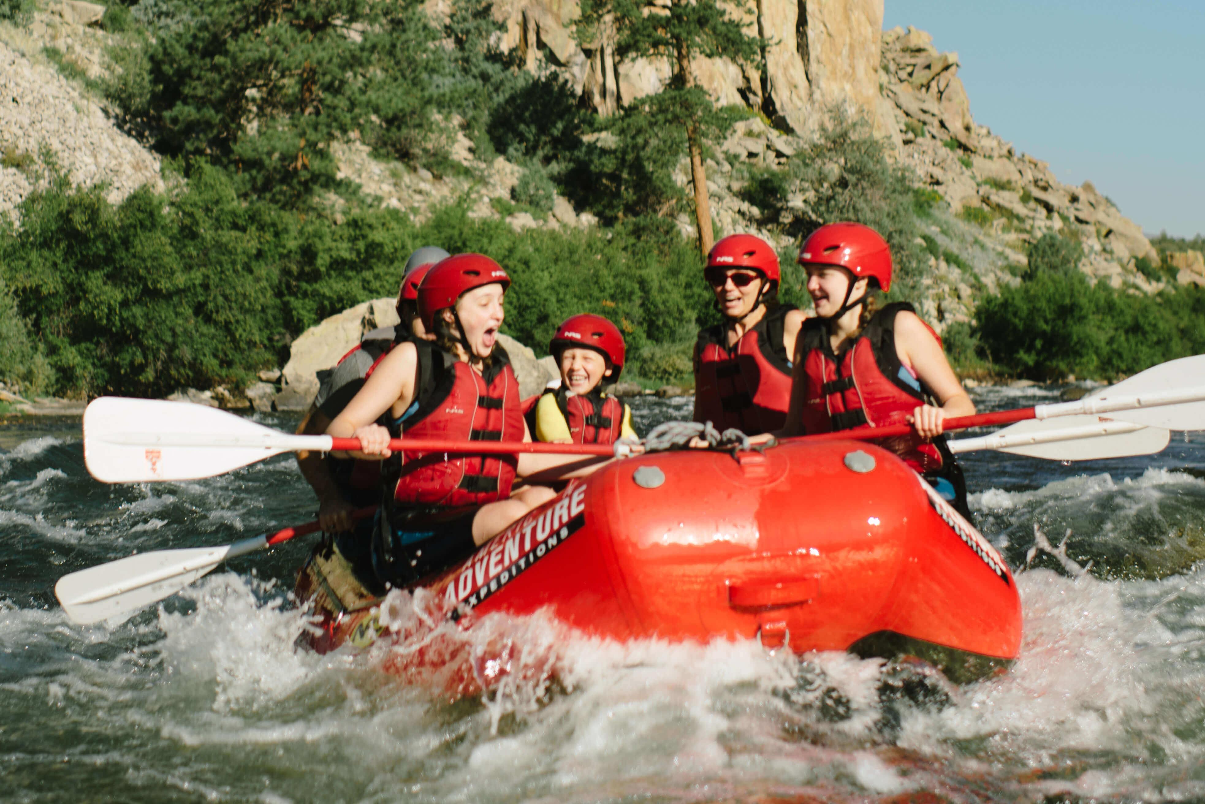 outdoor activities with kids river
