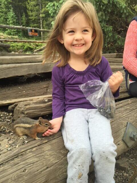 outdoor activities for kids chipmunk