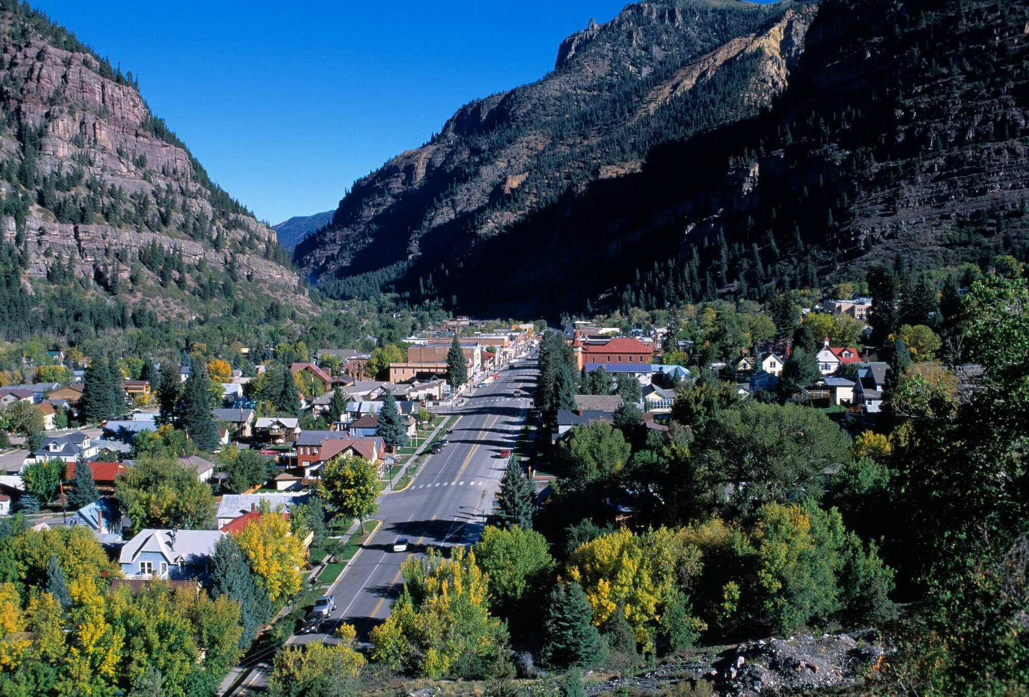 scenic places in colorado ouray