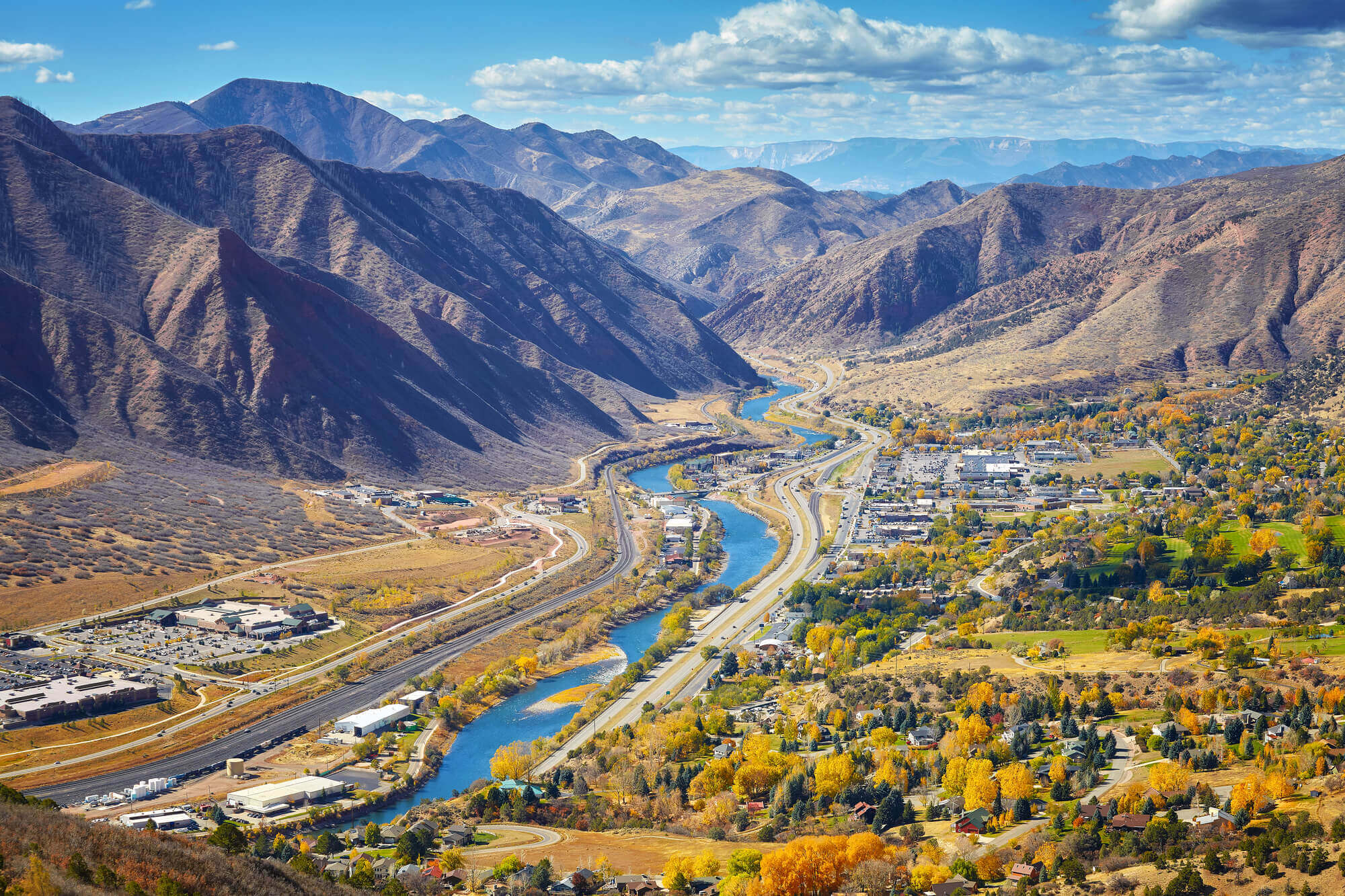 scenic places in colorado glenwood springs