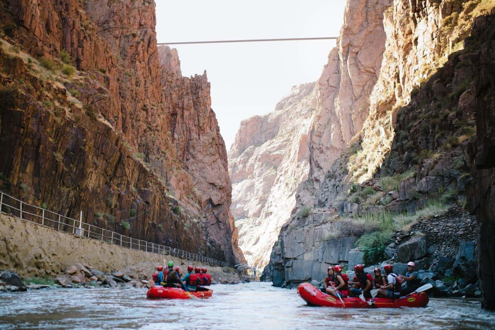scenic places in colorado royal gorge