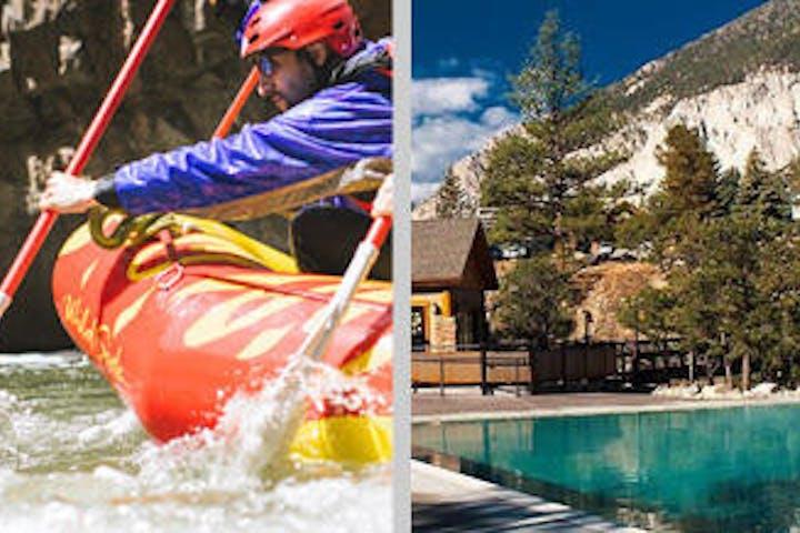 The Numbers: Raft + Hot Springs Package