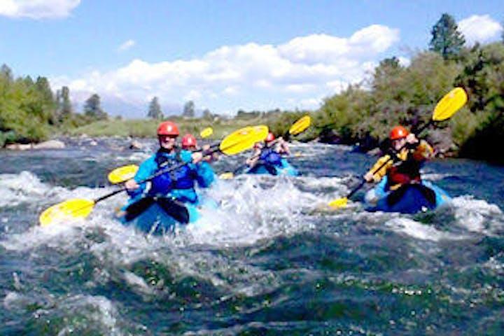 Inflatable Kayak Adventure - Browns Canyon
