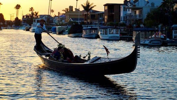 Gondola Adventures Cruises In Newport Beach Ca