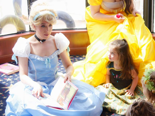 Dancing princesses learn to dance