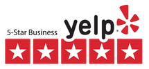 Yelp 5 star business logo