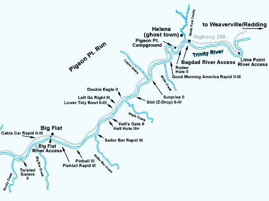 Pigeon Point Map