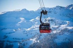 Picture of the Peak to Peak Gondola in Whistler