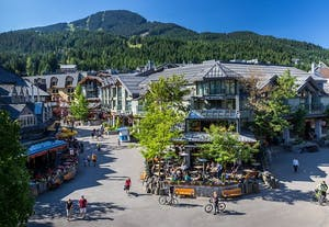 Whistler Village Summer time