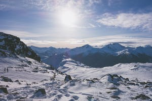 image showing the scope of whistler backcountry in winter