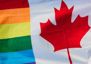 Pride Canada Flag