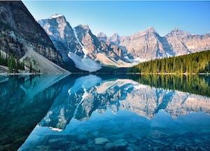 Lake around Banff, BC