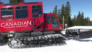 Canadian Wilderness Adventures Snow Cat
