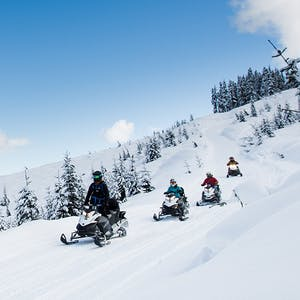The Adventure Group Snow mobile tours
