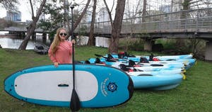 Paddle board and kayaks for rent