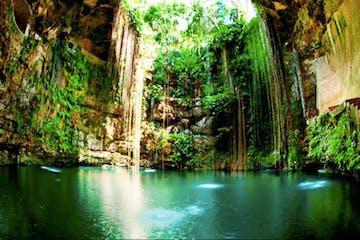 Tulum Cenotes cave
