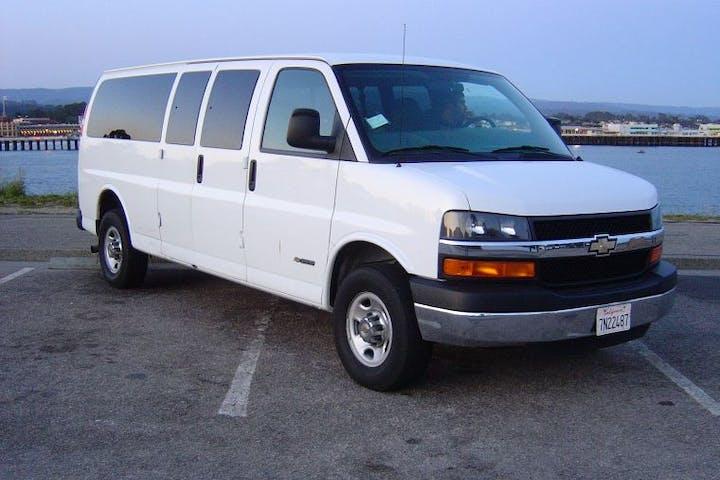 Santa Cruz Experience shuttle van