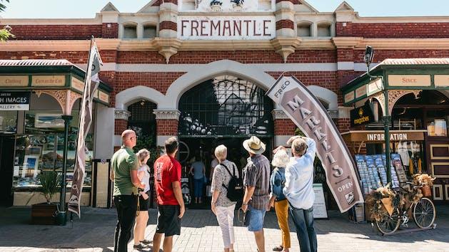 Fremantle Markets Entrance