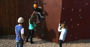 Climbing Wall Canyoneering Safety