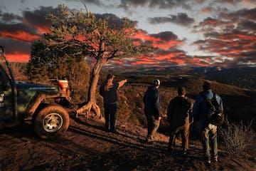 sunset jeep tour fall bucket list east zion adventures