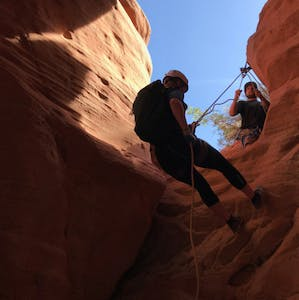 Zion Ponderosa Adventure Guide Mia Canyoneering