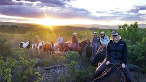guided horseback rides east zion adventures