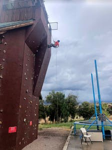 climbing wall zion ponderosa
