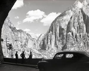 Zion Mt Carmel Tunnel 1930