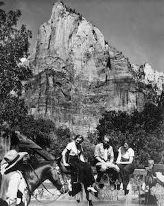 1940s horseback rides ZIon National Park