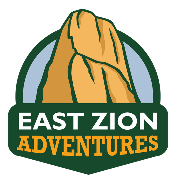 East Zion Adventure Logo of a Mountain