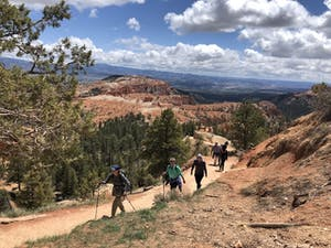 Adventure Women hiking in Bryce Canyon