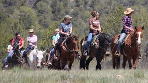 Adventure Women Horseback Riding in East Zion, Utah