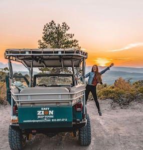 Karabou Adventures Sunset Jeep Tour East Zion