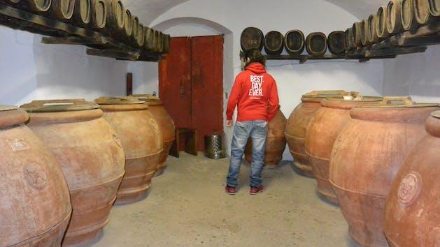 Tuscan Wine Cellar